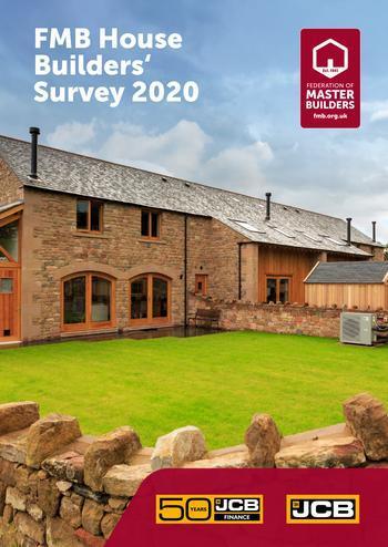 House Builders survey 2020 front cover
