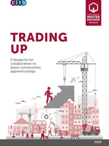 Trading up report front cover