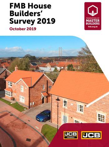 House Builders survey front cover
