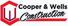 Logo of Cooper & Wells Construction Ltd