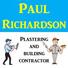 Logo of Paul Richardson Plastering & Building Contractor
