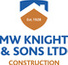 Logo of M W Knight and Sons Ltd