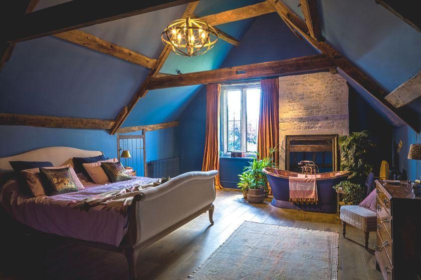 A magnificent master bedroom