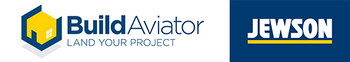 Jewson and Build Aviator Logo
