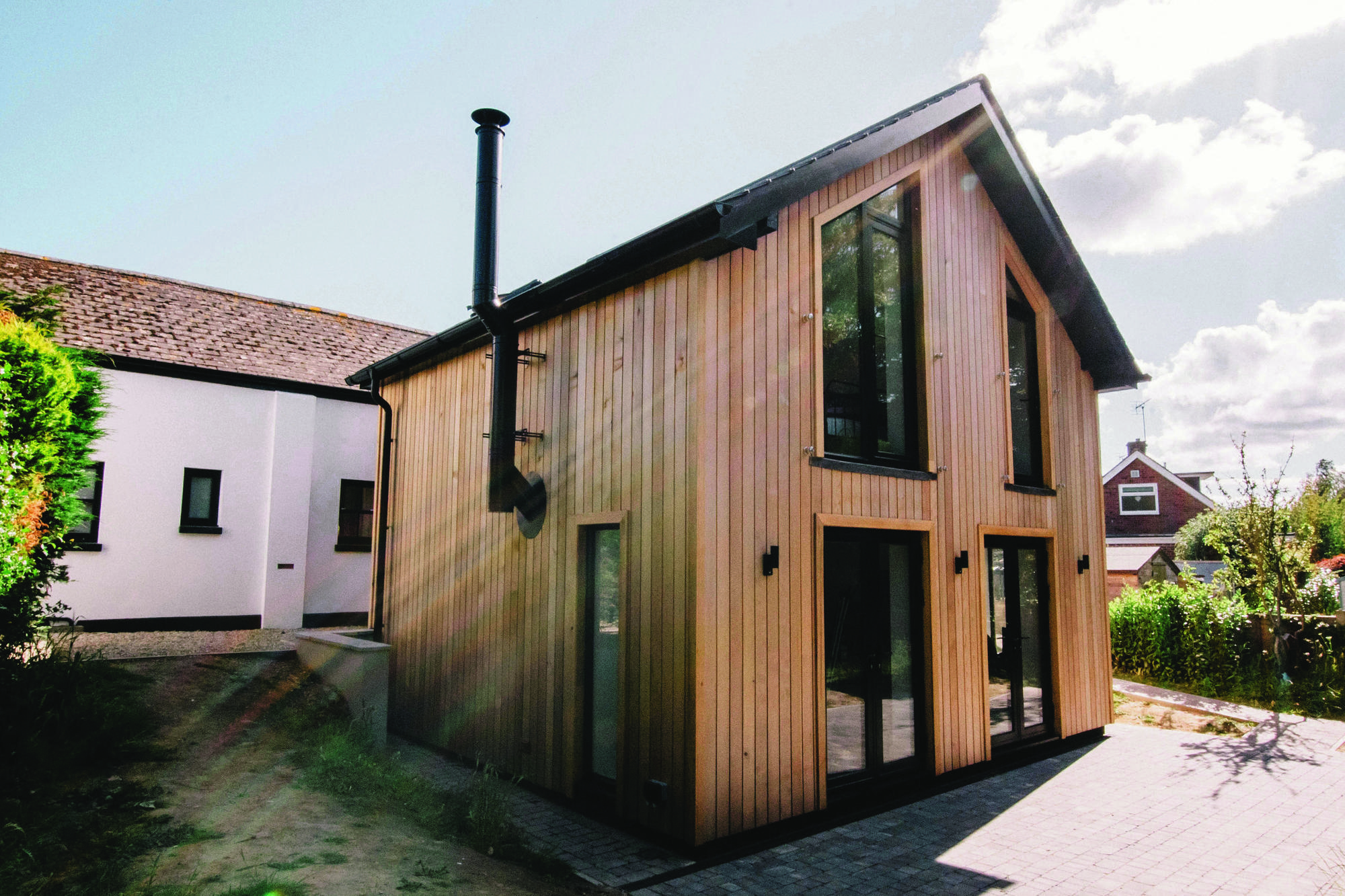 Schoolhouse home conversion