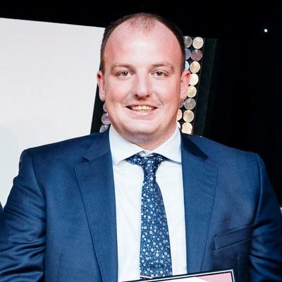 Gavin Dynes, 2017 Overall Master Builder Award Winner