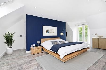 Picture of a modern bedroom