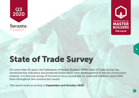 State of Trade survey front cover