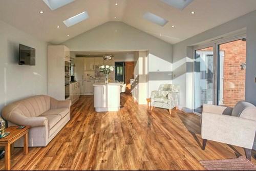 Image of open plan lounge