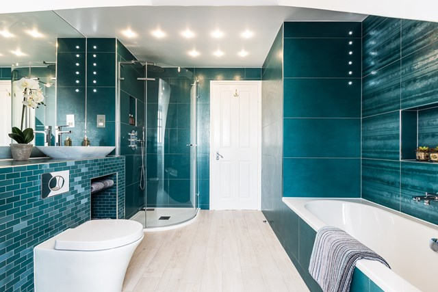 Project and photo of a bathroom by FMB member Magic Projects
